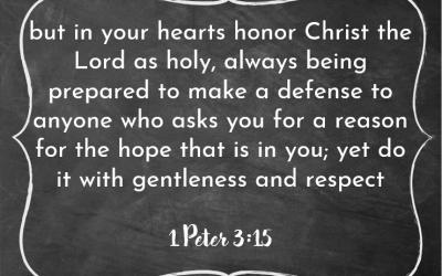 Bible Class 09/12/2021
